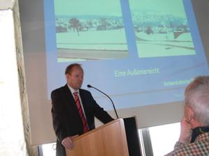 Verbandsdirektor Dirk Büscher vom Regionalverband Nordschwarzwald